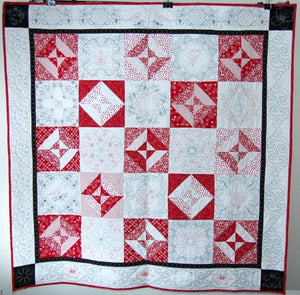 Red and White Sampler Quilt