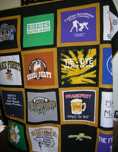 Colin's T-Shirt Quilt