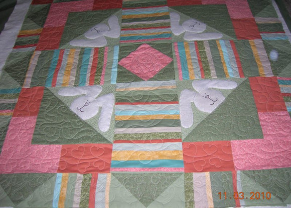 Bunny Applique Quilt