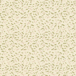 Classique–Green Squiggles on Cream 336