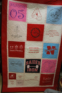 Go Raiders Cheering Quilt