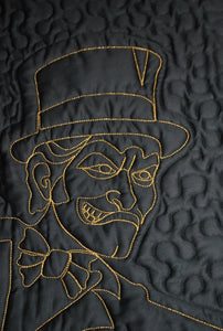 """Deacon on Parade"" Quilt and Pillow Sham"