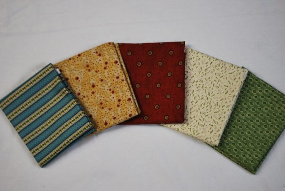 5 Half Yards Bundle pack #1016 Quilters collection #1