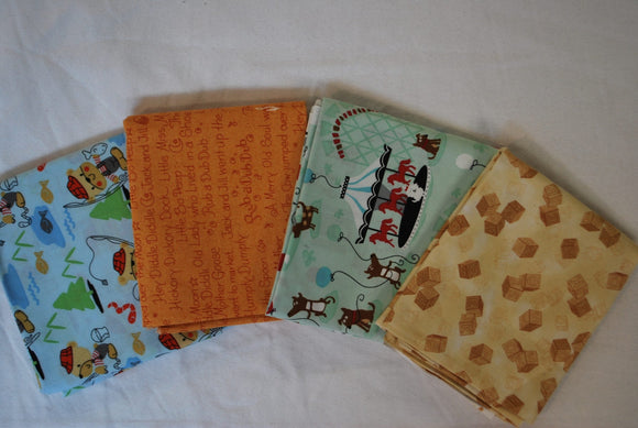 4 Half Yards Bundle pack #1038 Children's Print