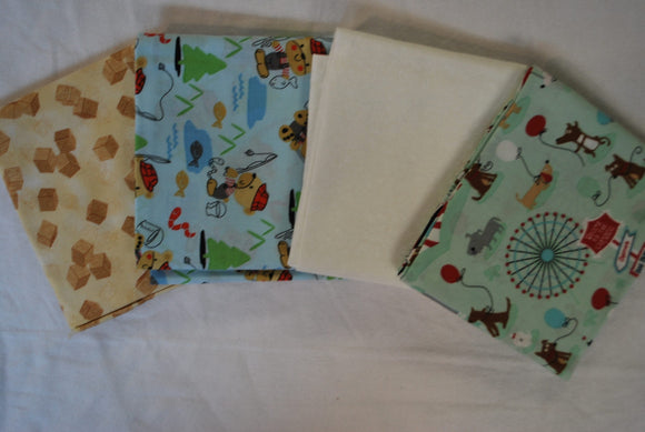 4 Half Yards Bundle pack #1040 Children's Print II