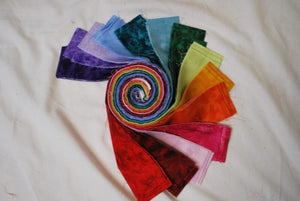 "Tonal Jelly Roll 2.5"" strips 42 pieces #7005"