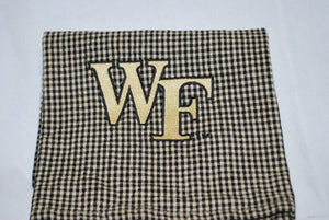 NEW!! Black Plaid WF Dish Towel