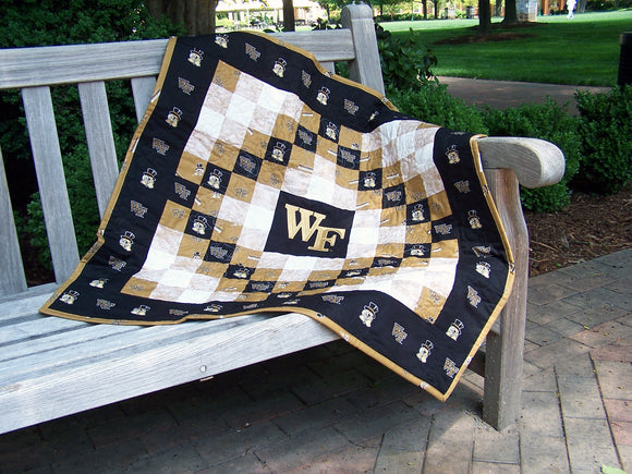 Wake Forest Deacon Pride© Quilt/Wall-Hanging - RETIRED