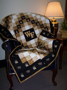 Wake Forest Dreamin' Deacon© Quilt/Wall-hanging - RETIRED
