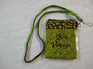 Bon Voyage Passport Purse - Green