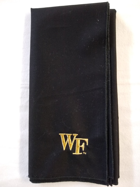 Wake Forest Cloth Napkins - Set of 4