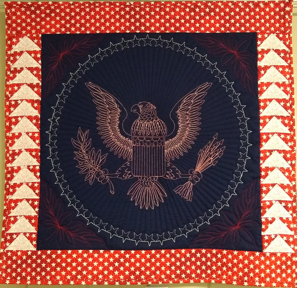 Presidential Eagle Wallhanging