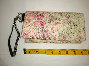 Small Pocketed Purse - Glistening Marble