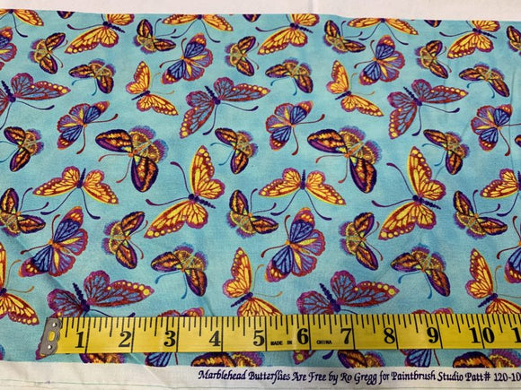 Marblehead - Butterflies Are Free: Blue, Purple, Yellow 222