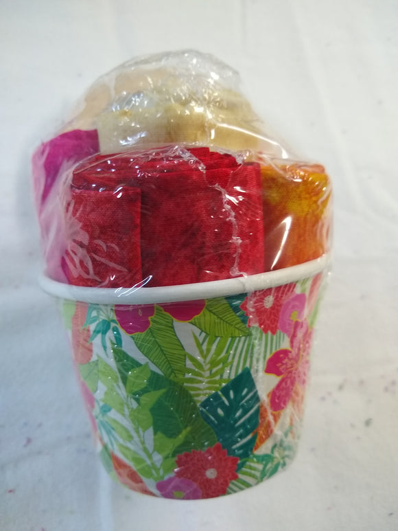 Ice Cream Bowl Fat Quarter Bundle 1 - 7018