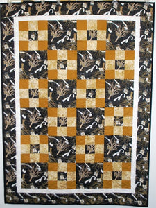 WF Roll the Quad Throw Quilt