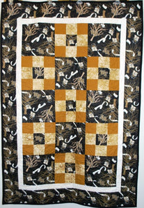 WF Roll the Quad Lap Quilt
