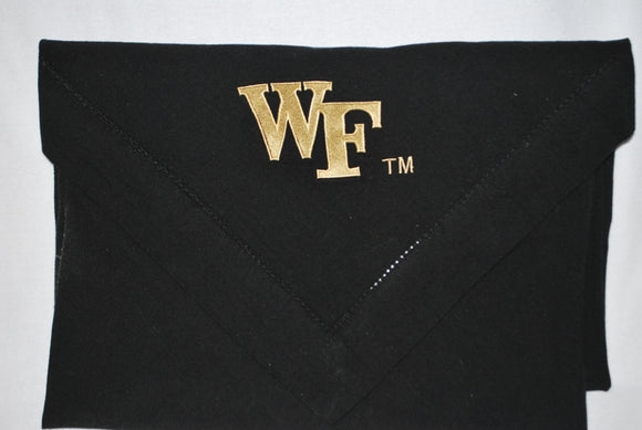 WF Black Tablecloth