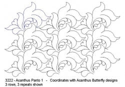 Acanthus - Designed by Donna Kleinke