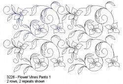 Flower Vines - Designed by Donna Kleinke