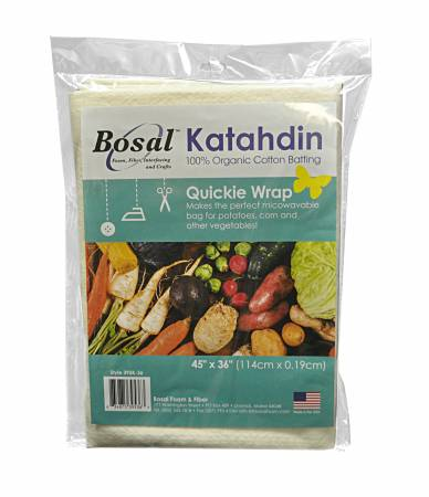 Bosal Katahdin 100% Cotton Quickie Wrap