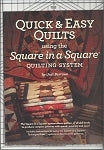 Square in a Square Ruler & Quick & Easy Quilts Book Combo