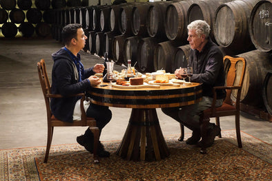Anthony Bourdain discovers Porto: big meals, lots of meat and complicated seafood