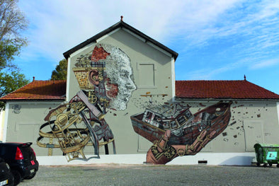 Vhils aka Alexandre Farto - The architect