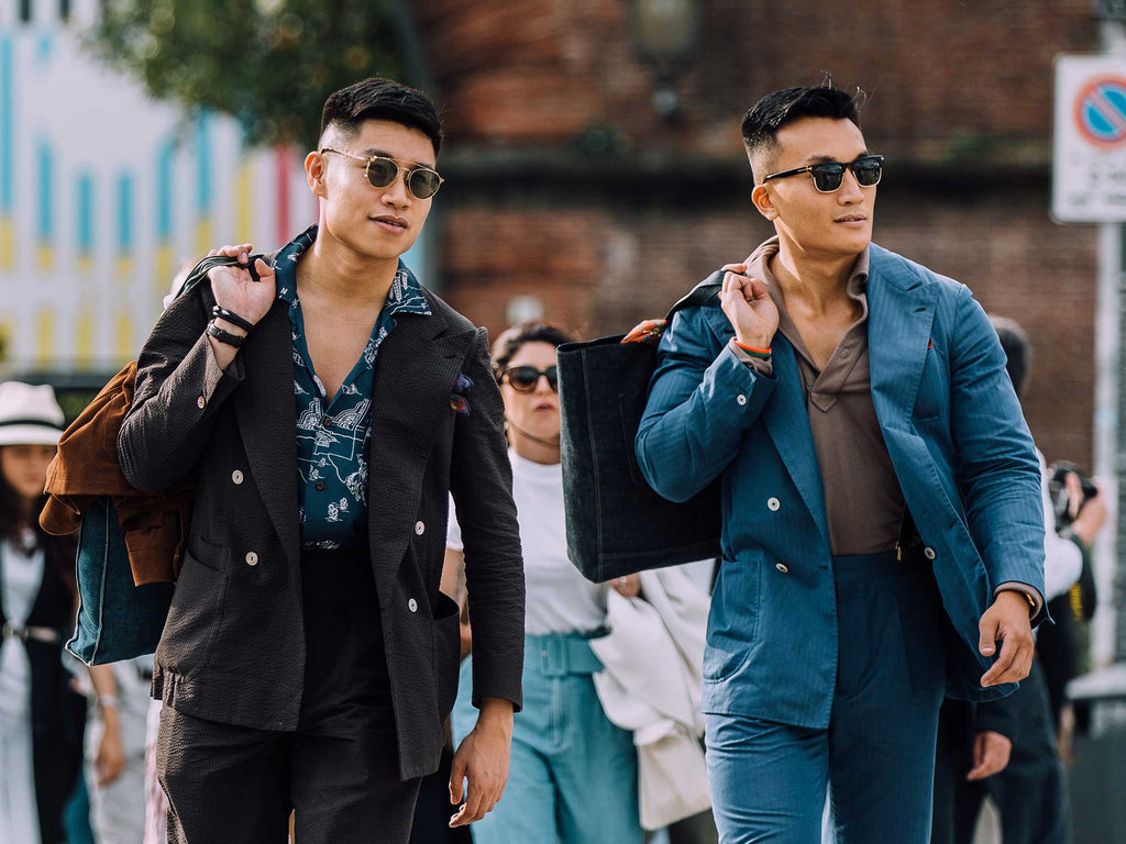 men's fashion, street style at Pitti Uomo 94