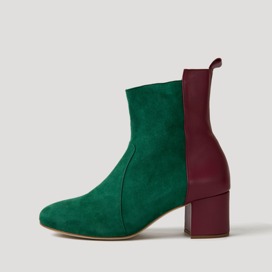 Middle-Heel Boots