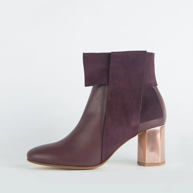 Bow Ankle Boots