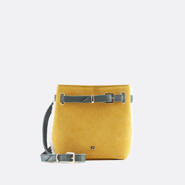 Shearling Belly Bag