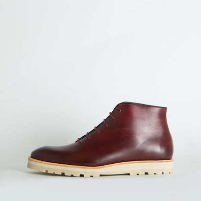 Casual chic polished leather boots.