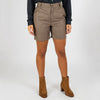 Neutral toned simple and comfortable shorts.