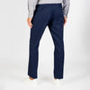Pleat Trouser Twill Navy