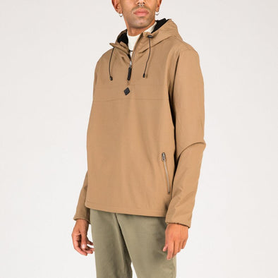 Sandstone anorak in warm micro polar.