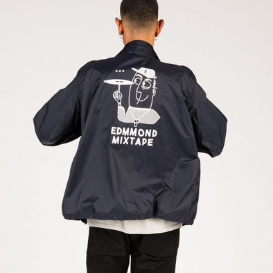 Timeless jacket with original artwork on the back.