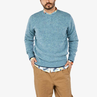 Lambswool knit sweater.