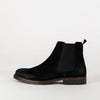 High quality waxy suede Chelsea boots with a calf leather lining on our iconic star sole with stitched leather rand.