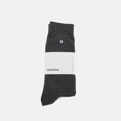 Grey soft socks.