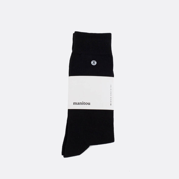 Black soft socks.