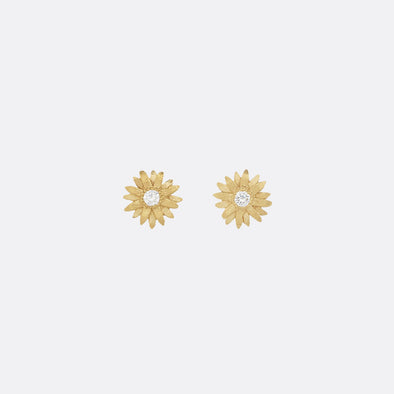 24k gold plated 925 sterling silver earrings.