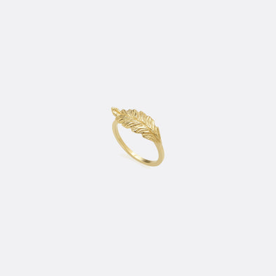 24k gold plated 925 sterling silver ring.
