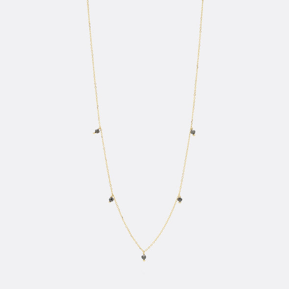 24k gold plated 925 sterling silver necklace.