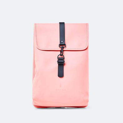 Rucksack in coral.