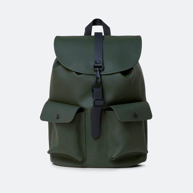Camp Backpack in green.