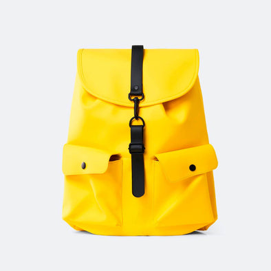 Camp Backpack in yellow.