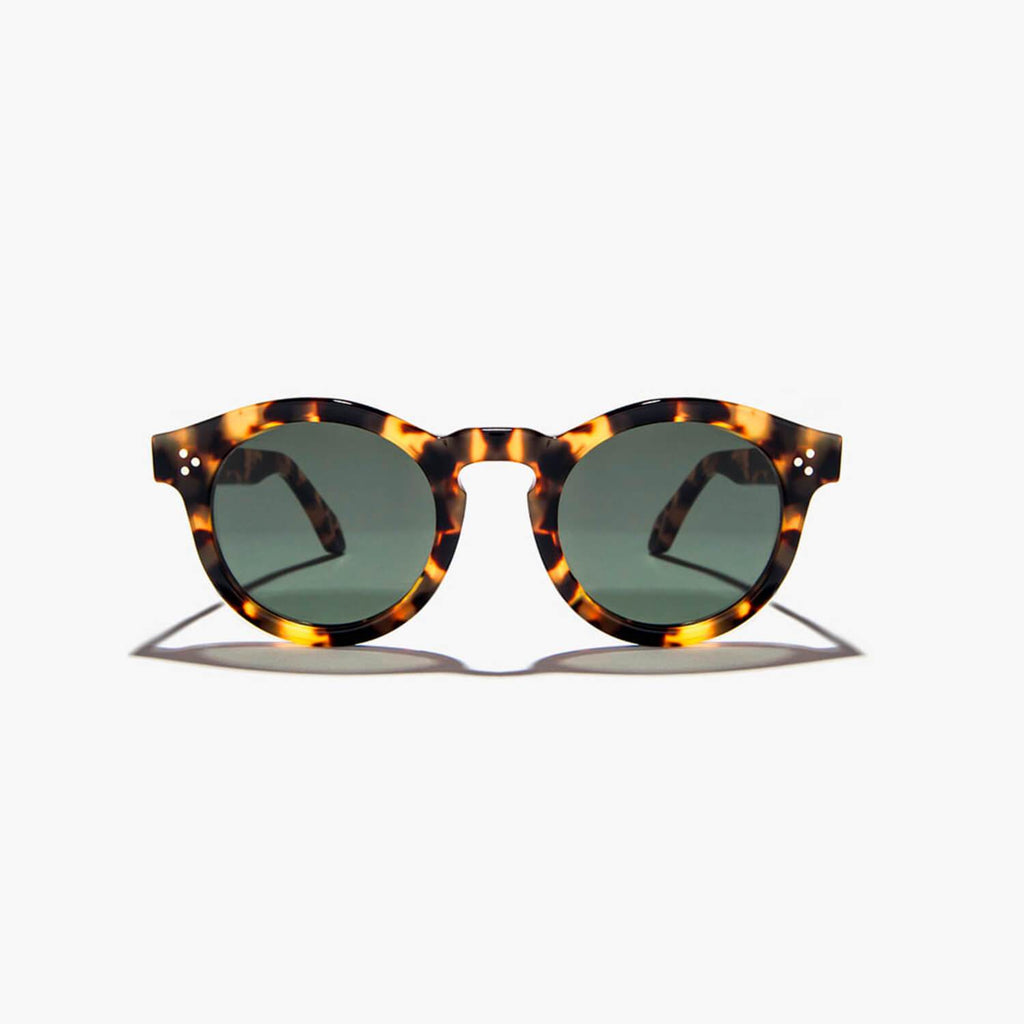 Amber sunglasses.