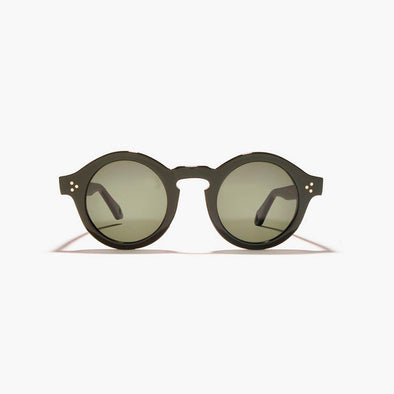 Olive sunglasses.