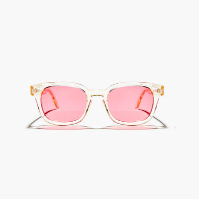 Crystal champagne sunglasses.